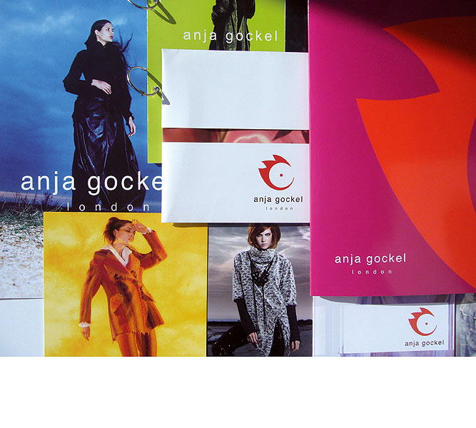 Detail of anja gockel branding