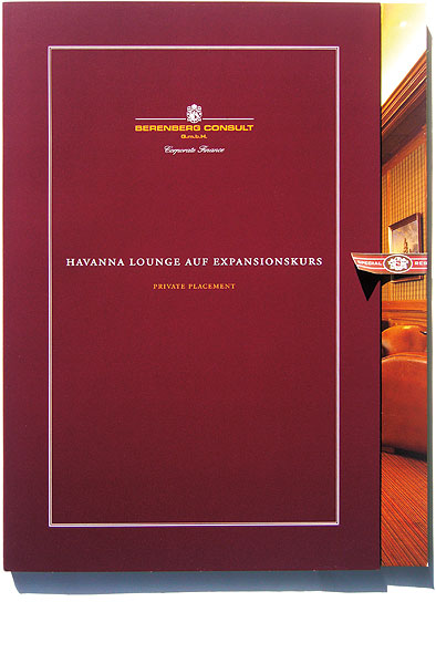 Detail aus Havanna Lounge –<br/>Private Placement