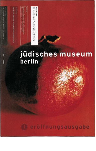 Detail of Jewish Museum Berlin –<br/>Newsletter