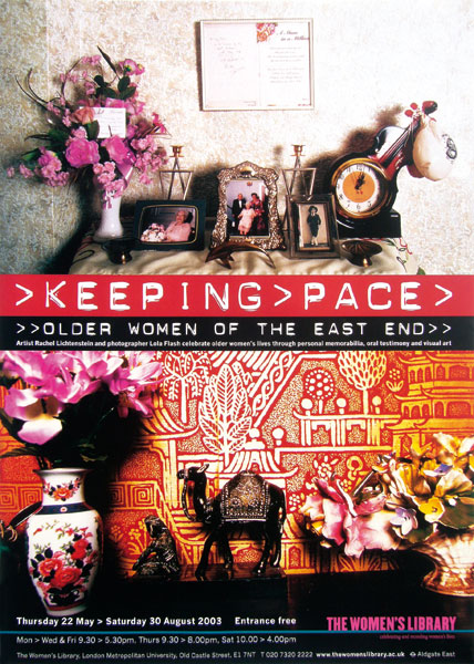 Detail aus The Women's Library –<br/>Keeping Pace