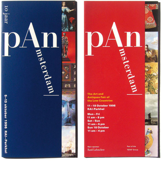 Detail of pAn Amsterdam –<br/>Logo and Branding