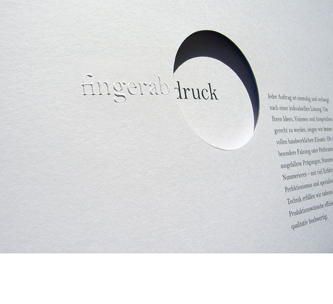 Detail aus spreedruck –<br/>Corporate Identity