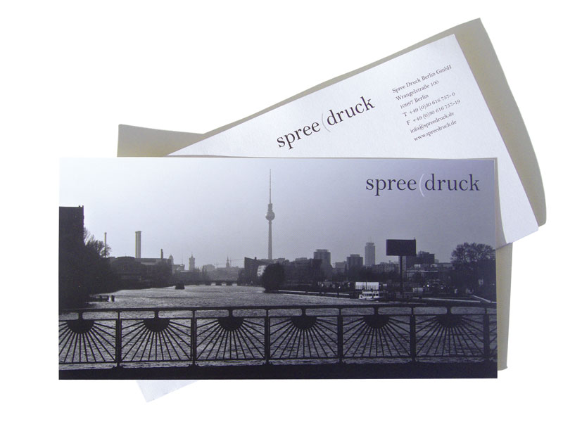 Detail of spreedruck –<br/>Corporate Literature and Branding